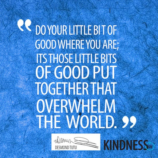 Desmond Tutu Kindness Quote