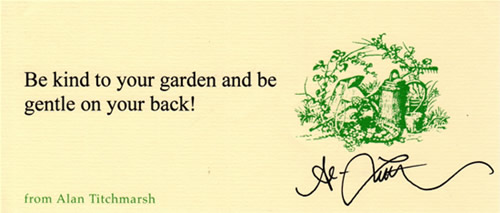 Alan Titchmarsh quote