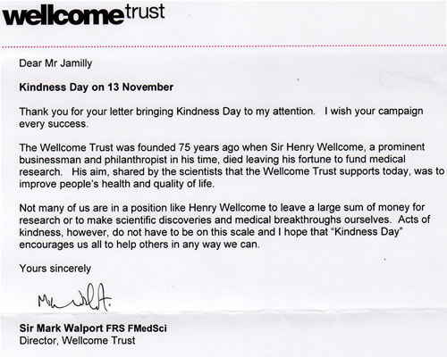 Sir Mark Walport - Wellcome Trust
